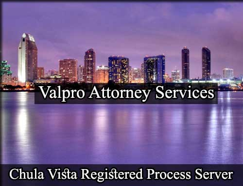 Registered Process Server in Chula Vista