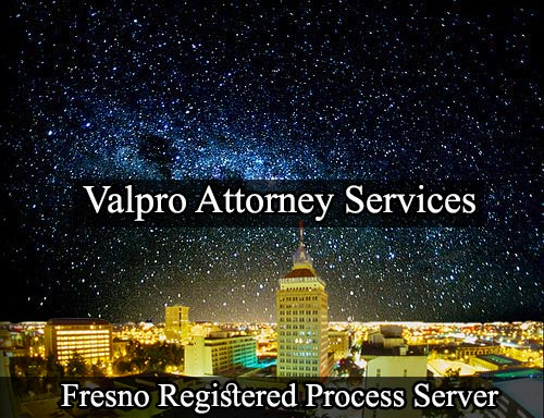 Fresno California Registered Process Server