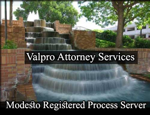 Modesto California Registered Process Server