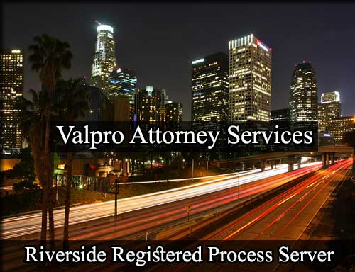 Riverside California Registered Process Server