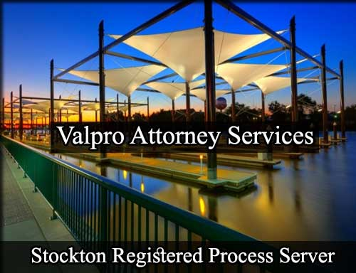 Registered Process Server in Stockton
