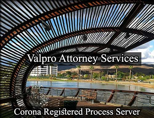 Corona California Registered Process Server