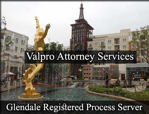 Glendale California Registered Process Server