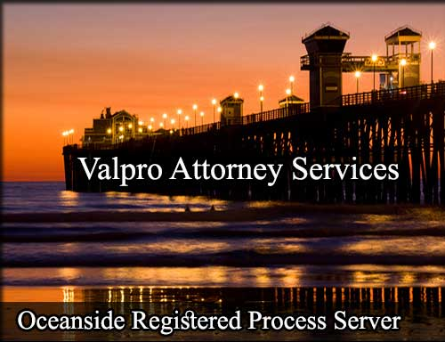 Oceanside California Registered Process Server