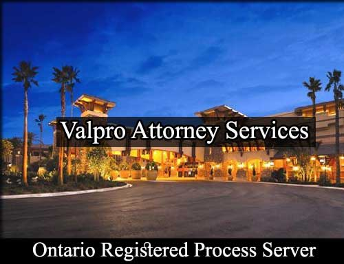 Registered Process Server in Ontario