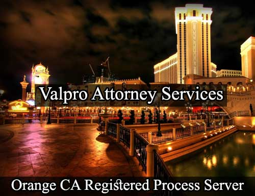 Orange California Registered Process Server