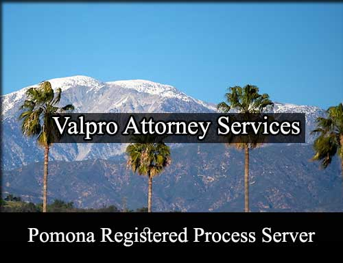 Pomona California Registered Process Server