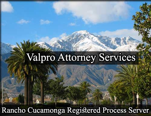 Registered Process Server in Rancho Cucamonga