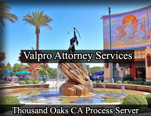 Thousand Oaks California Registered Process Server
