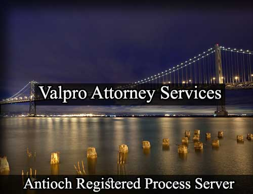 Antioch California Registered Process Server