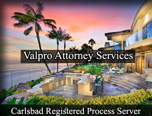 Carlsbad California Registered Process Server