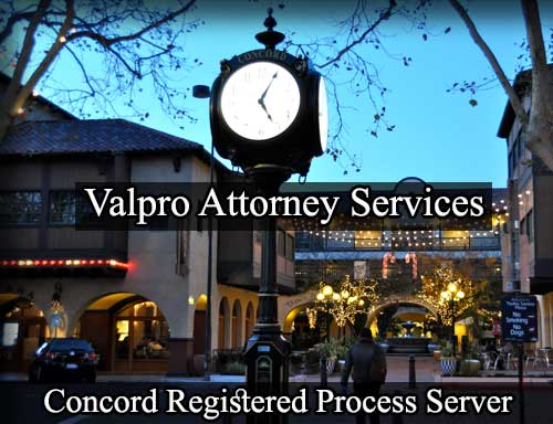 Registered Process Server in Concord