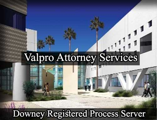 Registered Process Server in Downey