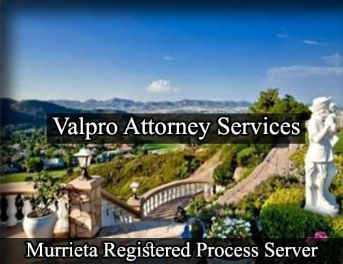 Registered Process Server in Murrieta