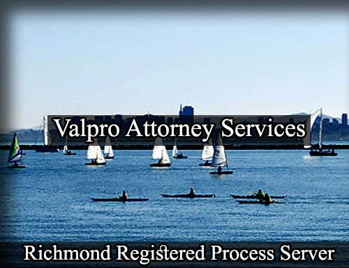 Richmond California Registered Process Server