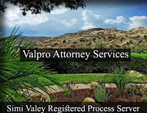 Registered Process Server in Simi Valley
