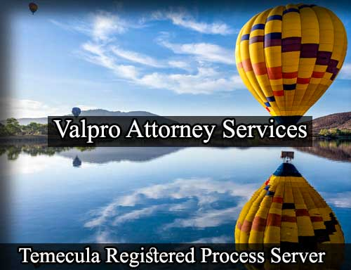 Temecula California Registered Process Server
