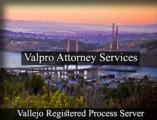 Registered Process Server in Vallejo