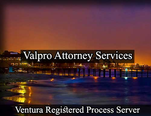 Registered Process Server in Ventura
