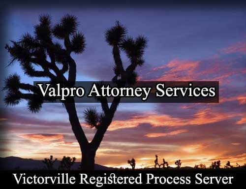 Victorville California Registered Process Server