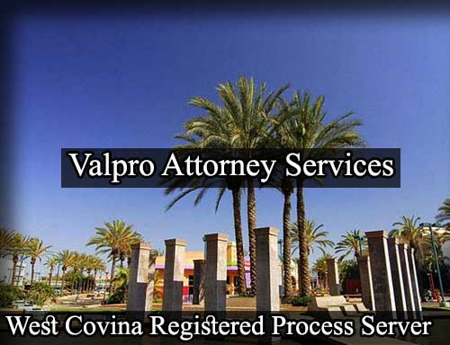 West Covina California Registered Process Server