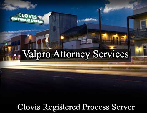 Registered Process Server in Clovis