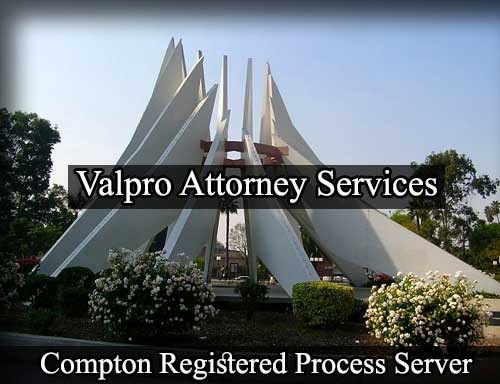 Registered Process Server in Compton
