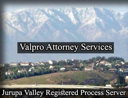 Jurupa Valley California Registered Process Server