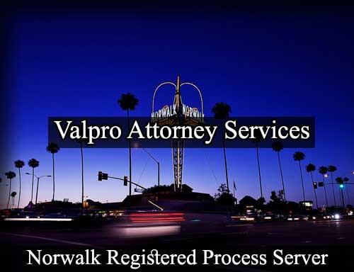 Norwalk California Registered Process Server