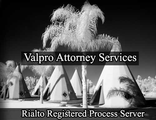 Registered Process Server in Rialto
