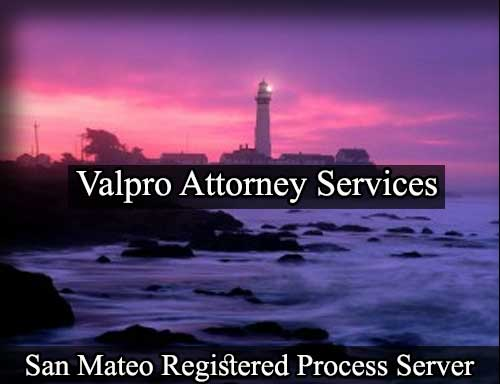 San Mateo California Registered Process Server