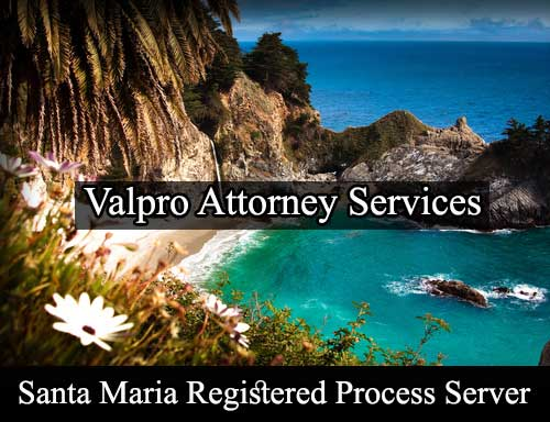 Santa Maria California Registered Process Server