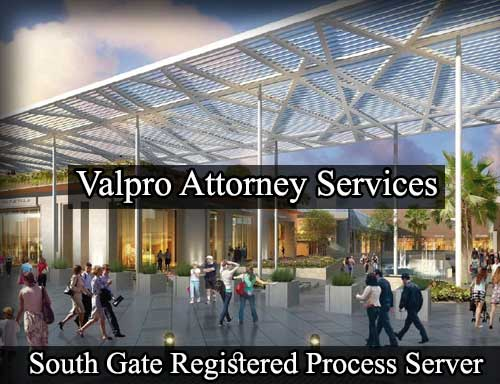 South Gate California Registered Process Server