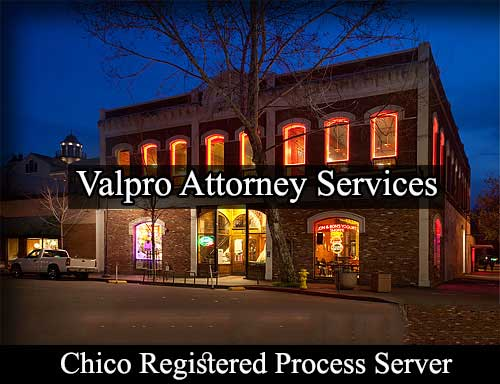 Chico California Registered Process Server