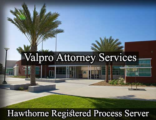 Hawthorne California Registered Process Server