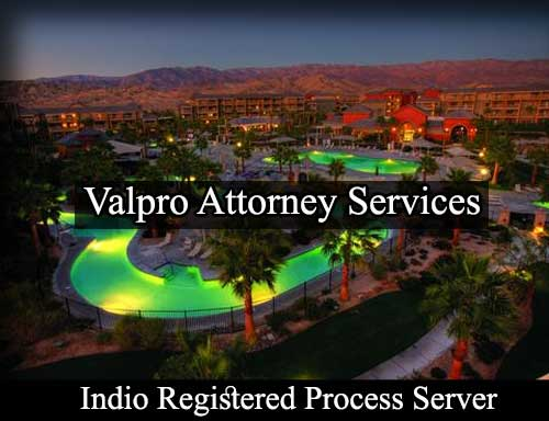 Indio California Registered Process Server