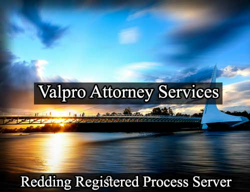 Registered Process Server in Redding