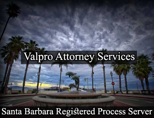 Registered Process Server in Santa Barbara