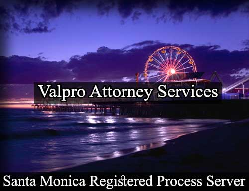 Santa Monica California Registered Process Server