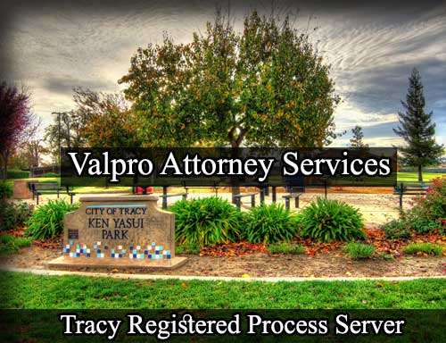 Tracy California Registered Process Server