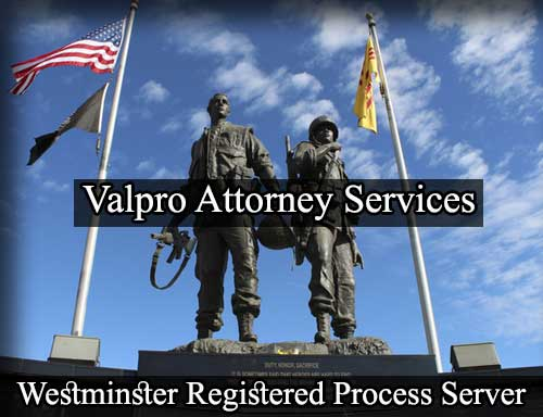 Registered Process Server in Westminster