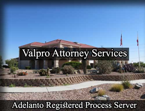 Registered Process Server in Adelanto