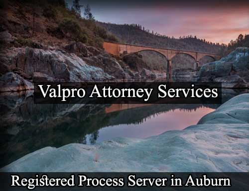 Auburn California Registered Process Server