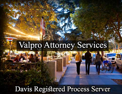 Davis California Registered Process Server