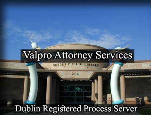 Registered Process Server in Dublin