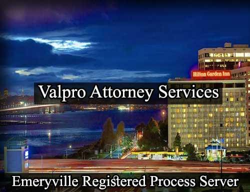 Emeryville California Registered Process Server