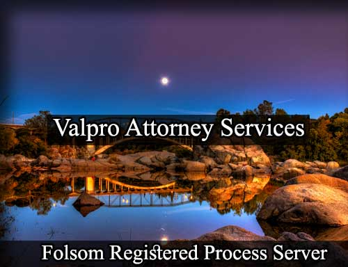 Registered Process Server in Folsom