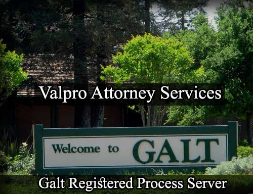 Galt California Registered Process Server