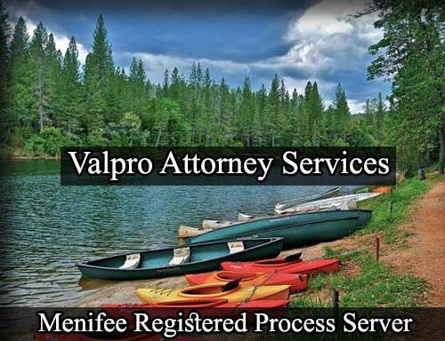 Registered Process Server in Menifee