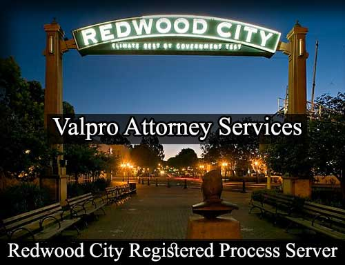 Registered Process Server in Redwood City